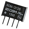 Recom ROM 1W Isolated DC-DC Converter Through Hole, Voltage in 10.8 → 13.2 V dc, Voltage out 12V dc