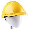 3M PELTOR G3000 Adjustable Yellow Hard Hat, Ventilated