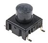 Black Button Tactile Switch, Single Pole Single Throw