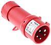 Merlin Gerin, PratiKa IP44 Red Cable Mount 3P+N+E