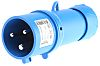 Merlin Gerin, PratiKa IP44 Blue Cable Mount 2P+E