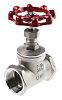 RS PRO Stainless Steel Globe Valve, 1-1/2 in