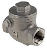 RS PRO Stainless Steel Single Non Return Valve 1/2 in BSP
