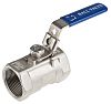 RS PRO High Pressure Ball Valve Stainless Steel