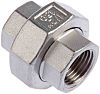 RS PRO Stainless Steel Octagon Straight Union 1/2in