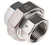 RS PRO Stainless Steel Octagon Straight Union 1in