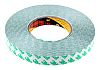 3M 9087 White Double Sided Plastic Tape, 19mm