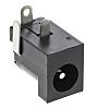 Lumberg Through Hole Right Angle Industrial Power Socket,