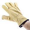 BM Polyco, Beige Work Gloves, Size 9