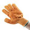 BM Polyco, Orange PVC Coated Work Gloves, Size