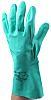BM Polyco Green Nitrile Work Gloves, Size 10, Large, 6 Gloves
