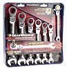 Gear Wrench 7 Piece Chrome Vanadium Steel Spanner