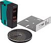 Pepperl + Fuchs Retroreflective Photoelectric Sensor with Block Sensor, 12 m Detection Range