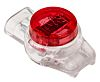 RS PRO Butt Splice Connector, Red, White, Insulated 26 → 19 AWG