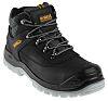DeWALT Laser Black Steel Toe Capped Mens Safety Boots, UK 9, EU 43