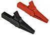 Staubli Crocodile Clip, 32A, Black, Red