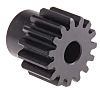 RS PRO Steel 15 Teeth Spur Gear, 22.5mm