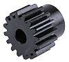 RS PRO Steel 16 Teeth Spur Gear, 24mm