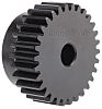 RS PRO Steel 30 Teeth Spur Gear, 45mm