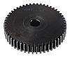 RS PRO Steel 50 Teeth Spur Gear, 1.5