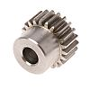 RS PRO Stainless Steel 22 Teeth Spur Gear,