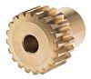 RS PRO Bronze 20 Teeth Worm Wheel Gear,