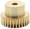 RS PRO Bronze 30 Teeth Worm Wheel Gear,