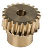 RS PRO Bronze 20 Teeth Worm Wheel Gear,