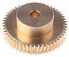 RS PRO Bronze 50 Teeth Worm Wheel Gear,
