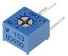 10kΩ, Through Hole Trimmer Potentiometer 0.5W Side Adjust