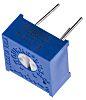 100kΩ, Through Hole Trimmer Potentiometer 0.5W Top Adjust