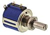 Bourns 2kΩ Rotary Potentiometer 10-Turns 1-Gang Panel Mount, 3540S-1-202L
