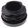 RS PRO Black PE Round Tube Plug