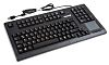 Cherry Wired Black USB Compact Keyboard, QWERTZ