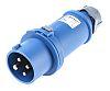 MENNEKES, StarTOP IP44 Blue Cable Mount 4P Industrial