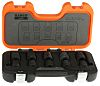 Bahco D/S10 10 Piece Socket Set, 1/2 in