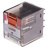 TE Connectivity, 24V ac Coil Non-Latching Relay DPDT,