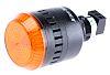 Allen Bradley 855PC LED Dauer-Licht Alarm-Leuchtmelder Orange / 98dB, 24 Vac/dc