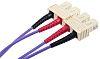 RS PRO Száloptikás kábel OM3 Multi üzemmód, Átmérő-Ø 50/125μm, 1m
