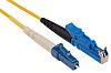 E2000-LC 09/125 simplex Yellow 10m cord