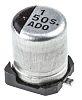 Panasonic 1μF 50V dc Aluminium Electrolytic Capacitor, Surface