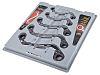 RS PRO 5 Piece Chrome Vanadium Steel Spanner