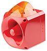 Klaxon Nexus Sounder Beacon 120dB, Amber Xenon, 10
