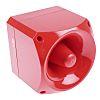 Klaxon Nexus 120 Red 50 Tone Electronic Sounder