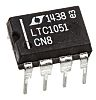 LTC1051CN8#PBF Analog Devices, Chopper Stabilized, Op Amp, RRO,
