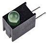 Dialight 551-1307F, Green Right Angle PCB LED Indicator,