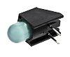 Dialight 550-1307F, Green Right Angle PCB LED Indicator,