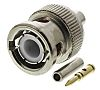 RS PRO 50Ω Straight Cable Mount BNC Connector,
