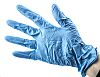 Delta Plus Blue Nitrile Disposable Gloves size 7.5