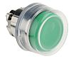 Schneider Electric Booted Green Push Button Head -